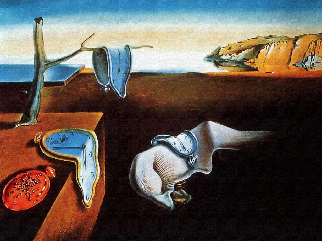 La-persistenza-della-memoria-Salvador-Dali